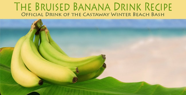 Bruised Banana Drink recipe