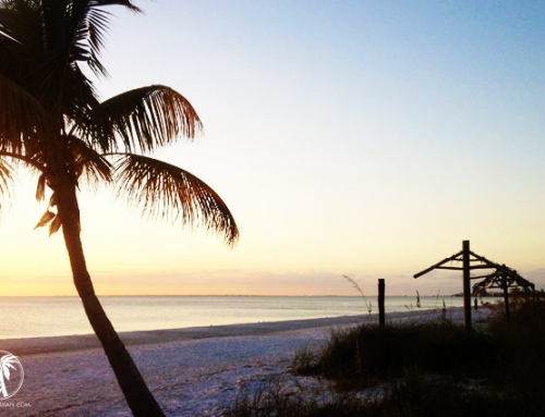 A Fort Myers Beach Sunset: Why Traffic Can Be Good