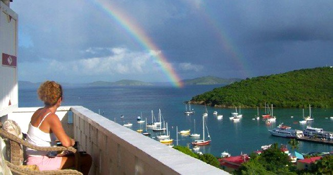 Hillcrest Guest House webcam St. John