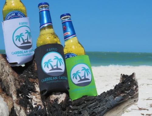 New RumShopRyan Caribbean Castaway Koozies!