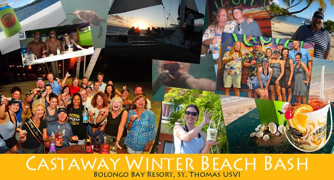 Castaway Winter Beach Bash Schedule
