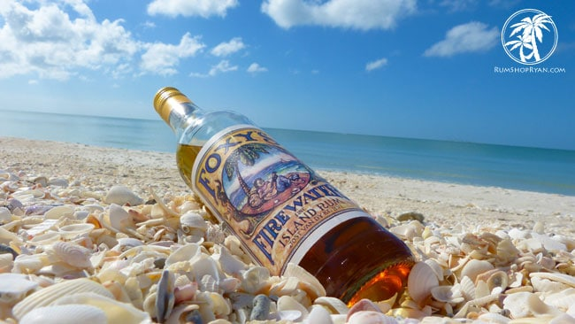Foxys Fire Water Rum