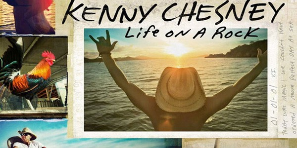 Kenny Chesney's Life On A Rock Album Drops Today