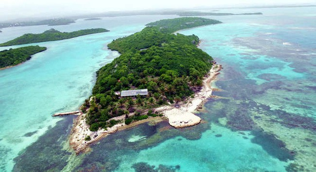 Caribbean island for sale