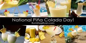 July 10th Is National Pina Colada Day!