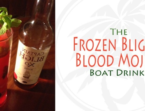 From Mustique, The Frozen Bligh's Blood Mojito: Boat Drink Recipes