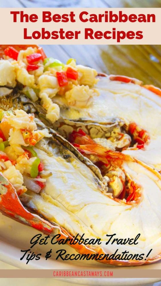 Caribbean lobster pin