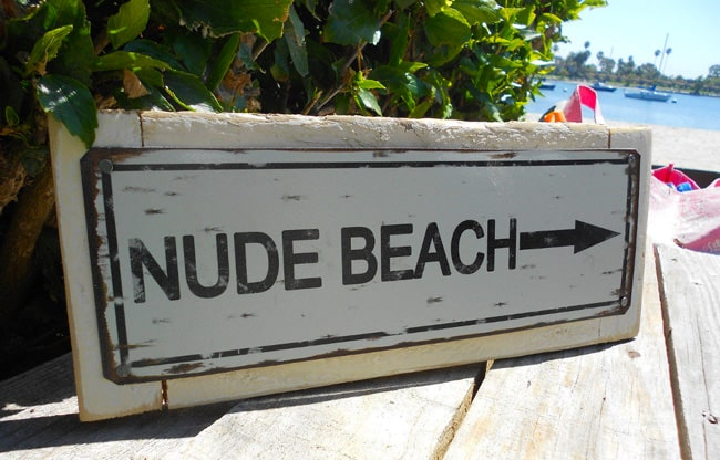 Caribbean nude beaches