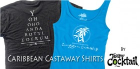 Caribbean Castaway T-Shirts By TeamCocktail
