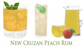 Cruzan Rum Launches New Cruzan Peach