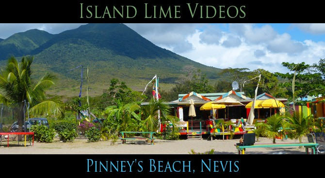 Pinney S Beach Nevis Island Lime Video