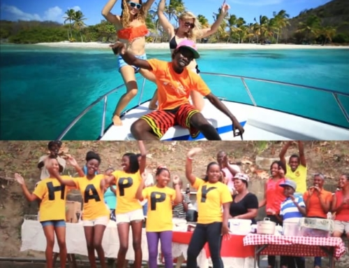 "St. Vincent and the Grenadines Gets ""Happy"""