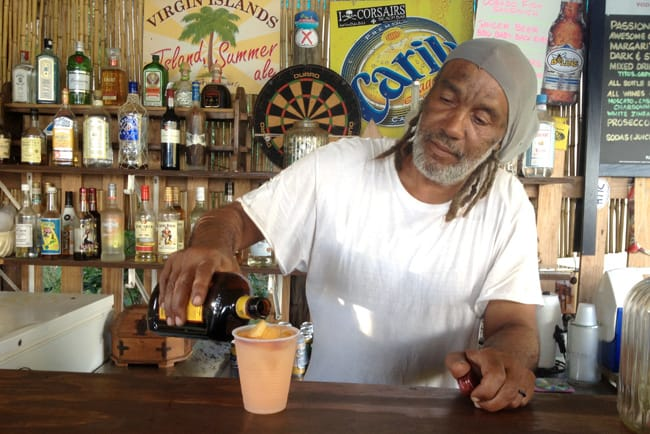 B Line Beach Bar Little Jost Van Dyke
