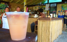 Passion Confusion B-Line Beach Bar drink