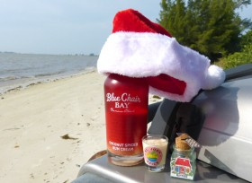 Christmas Drink Blue Chair Bay Rum