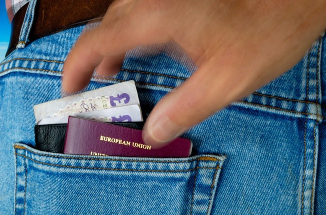passport lost stolen