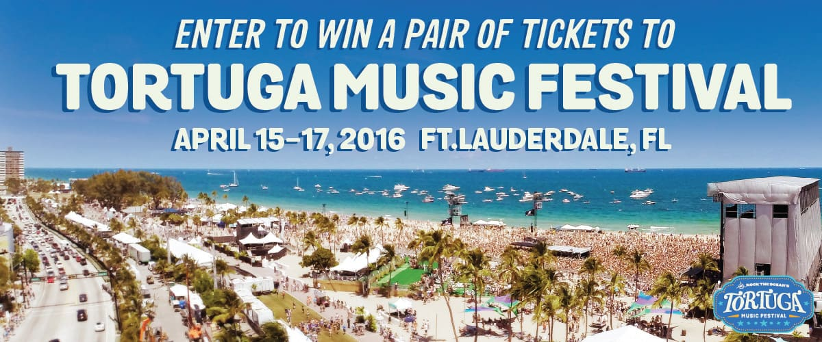 Tortuga Music Festival ticket Giveaway
