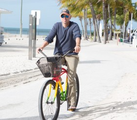 Kenny Chesney on Bike