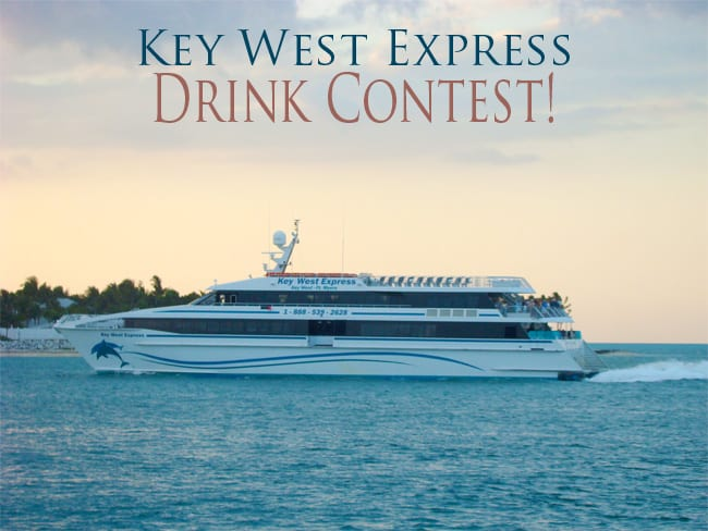 Key West Express Drink contest