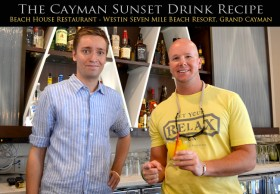 Cayman Sunet Drink Recipe