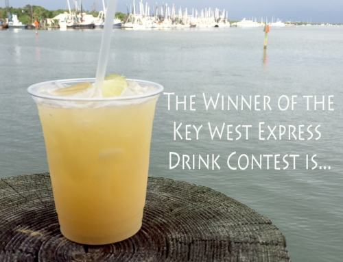 The Winner of the Key West Express Drink Contest Is…