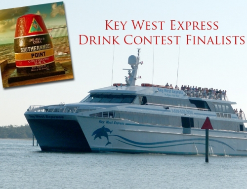 5 Finalist for the Key West Express Drink Contest.