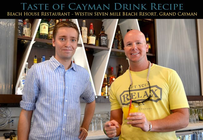 Taste of Cayman Drink Recipe