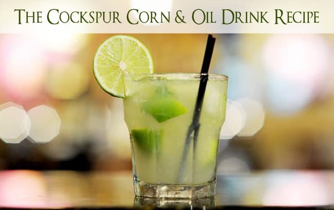 Cockspur rum drink recipe