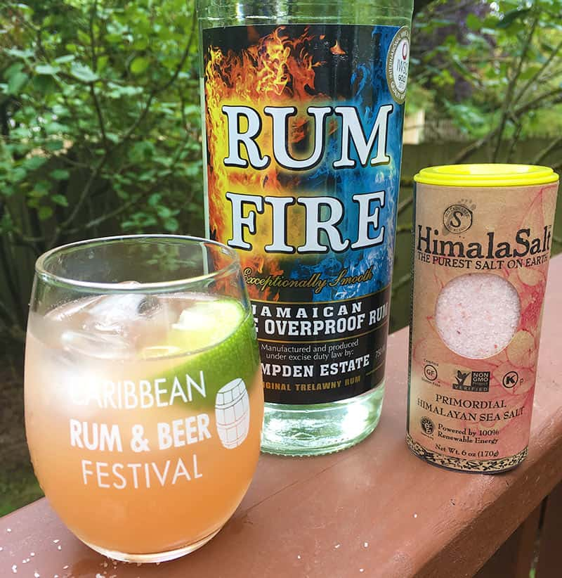 Rum Fire Drink Recipe