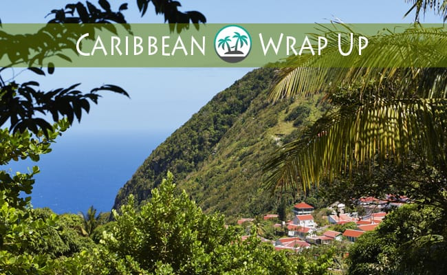 Caribbean wrap up saba