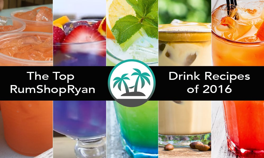 2016 Top Drink Recipes