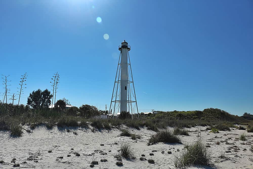 Gasparilla Island Lighthouse Boca Grande Florida