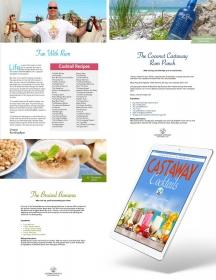 Castaway Cocktails Recipe book