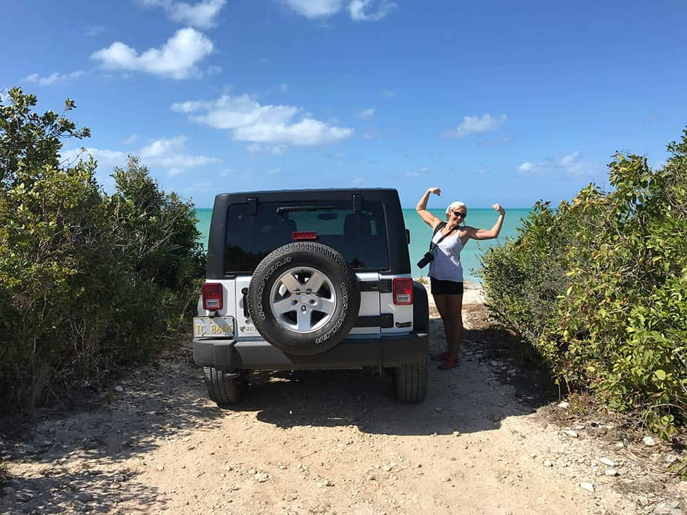 Turks and Caicos Providenciales exploring