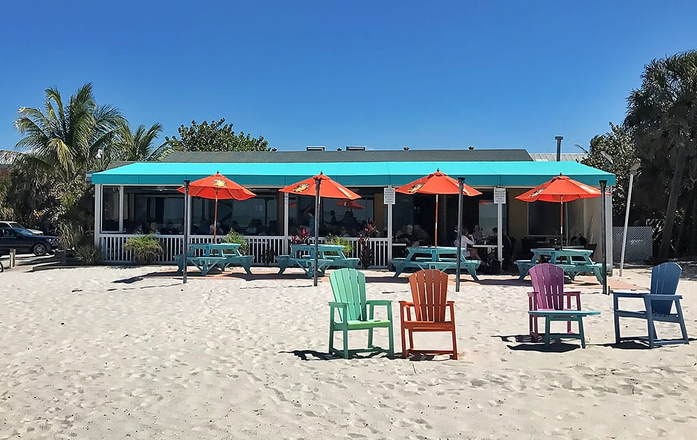 South Beach Bar and Grill Florida Gasparilla Island Boca Grande Restaurant