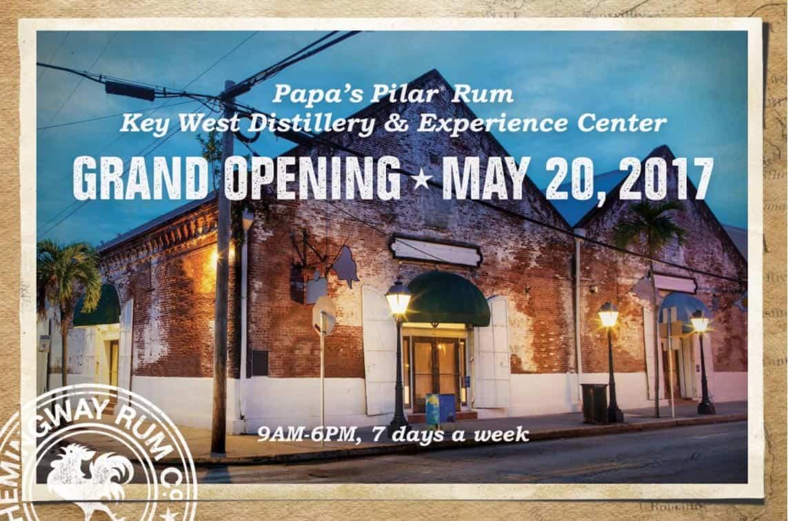 Pilar rum distillery key west