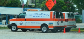 Turtle Hospital, Ambulance, Marathon, Florida Keys