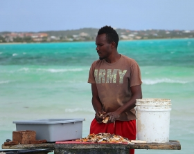 conch, fresh conch, Bugaloo's Conch Crawl, Turks and Caicos