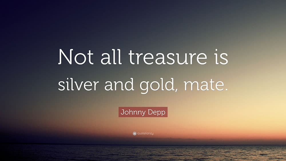 quote, trreasure, johnny depp