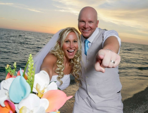 With Sandy Toes and Salty Kisses, How We Became Mr. and Mrs.
