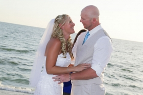 Wedding, Beach Wedding, Sunset Wedding, Captiva Island, Florida