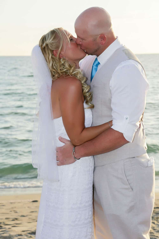 Wedding, Bride, Groom, Kiss