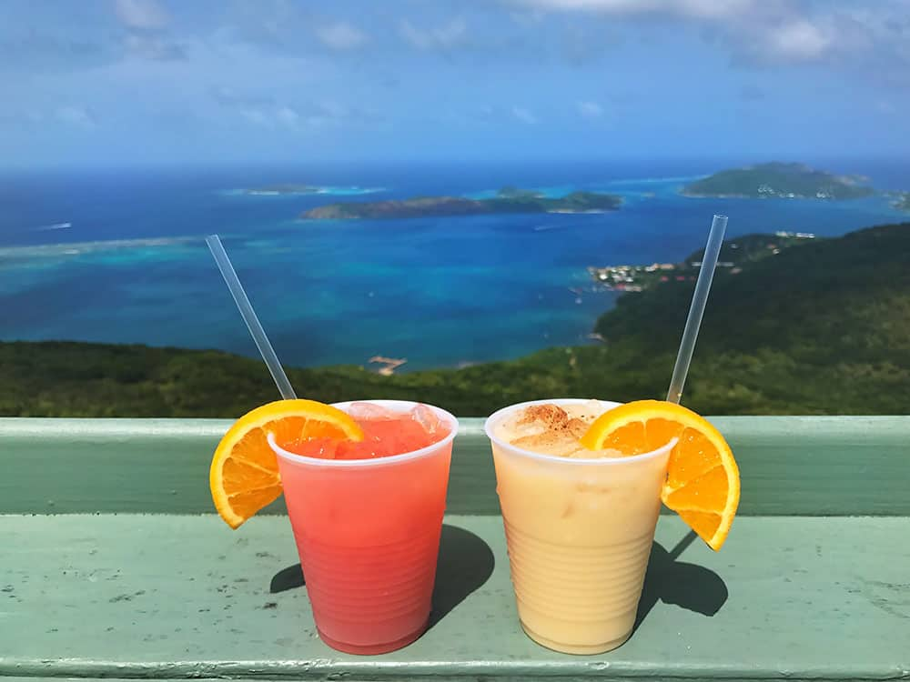 Rum, Drinks, Hog Heaven, Virgin Gorda, British Virgin Islands