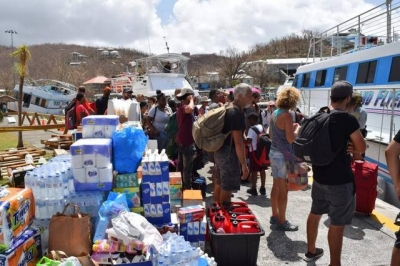 Caribbean Donations for Hurricane irma
