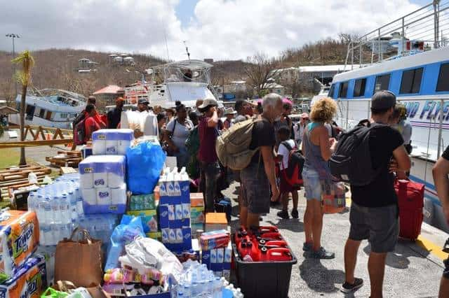 Caribbean Hurricane Relief Support List