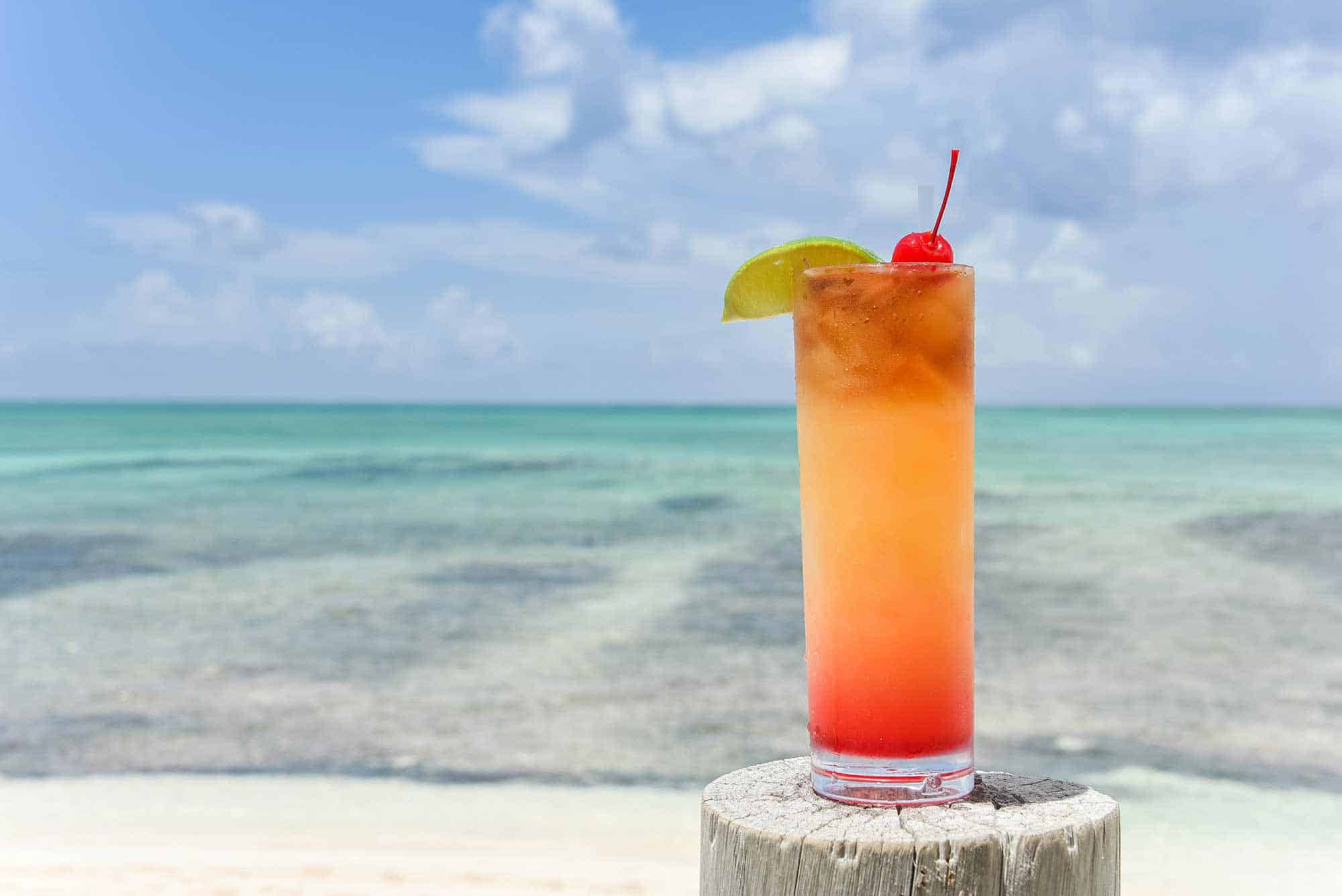 Best Rum Punch in Turks and Caicos