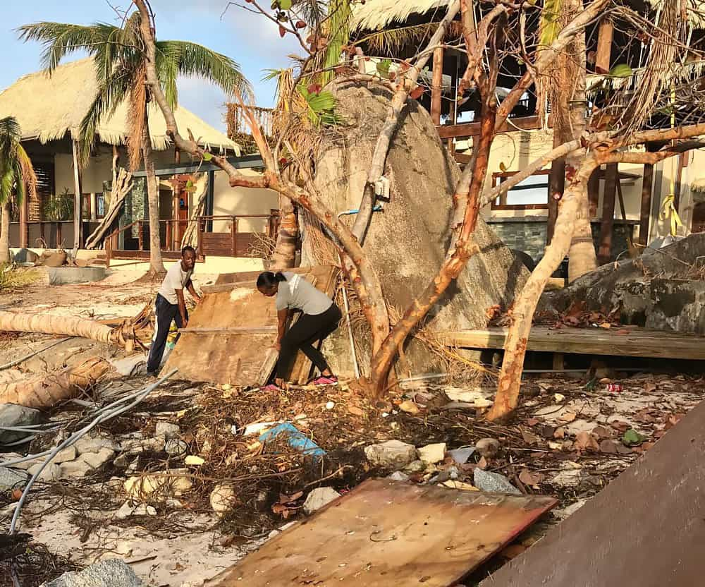 Cocomaya, Virgin Gorda, British Virgin Islands, Restaurant, Hurricane Relief, After Irma