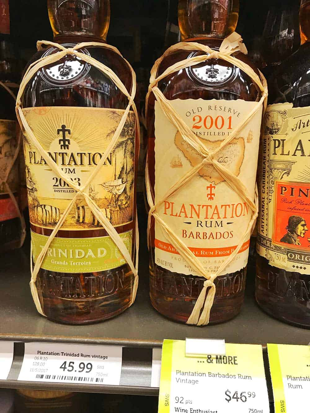 Plantation rum gift ideas