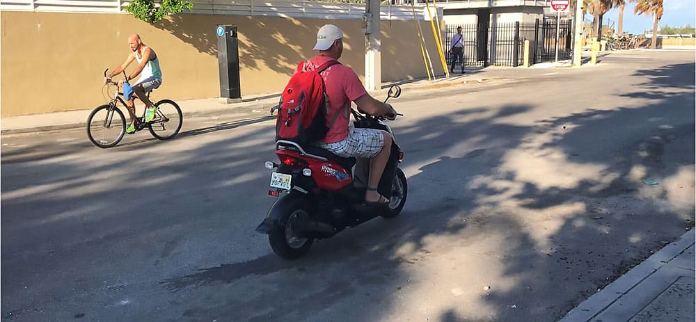 Scooter, Key West