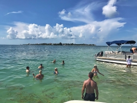 Cayo Costa, Captiva Island, Pontoon Boat